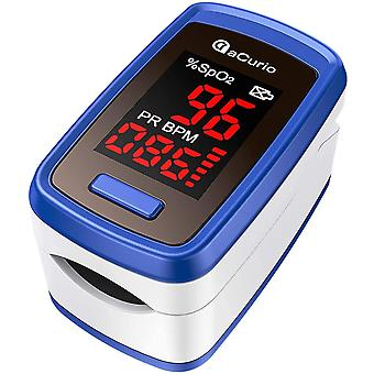 Acurio Pulse Oximeter Nhs Approved Pulse-oximeter Blood Oxygen Monitoroximeter Nhs Approved Uk Oxygen Monitor Finger Adults - Spo2, Oxygen Saturation