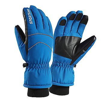 Silktaa Winter Thickened Windproof Waterproof Gloves For Ski Riding