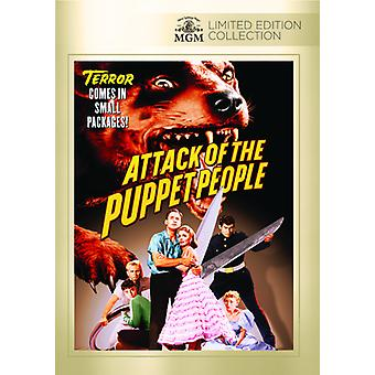 Attack of the Puppet People [DVD] USA import