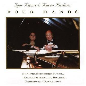 Kipnis, Igor; Kushner, Karen - Four Hands [CD] USA import