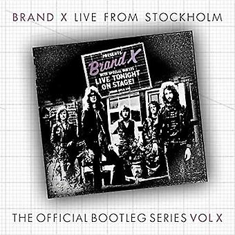 Brand X - Stockholme March 30th 1978 [CD] USA import