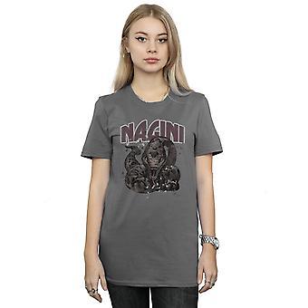 Harry Potter Women's Nagini Splats Boyfriend Fit T-Shirt
