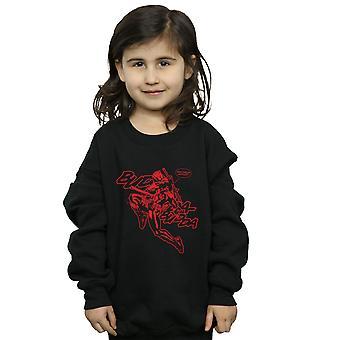 Marvel Mädchen Deadpool Budda Budda Sweatshirt