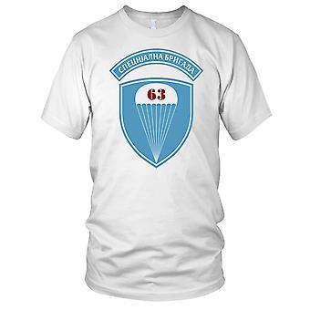 Serbiske 63 spesielle Brigade ren kraft merke Mens T skjorte