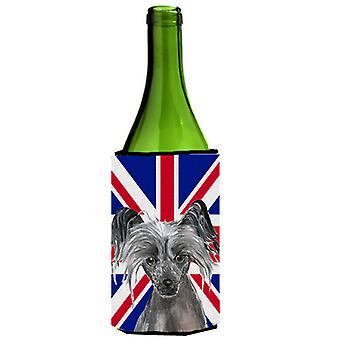 Chiński grzywacz z angielski Union Jack flagi brytyjskiej butelka napoju Insula