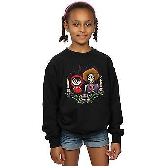 Disney Mädchen Coco Miguel und Hector Sweatshirt