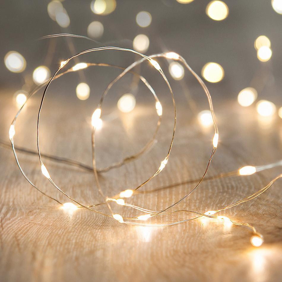 Submersible Waterproof Vine Fairy Lights, 20 LEDs per String for Vases, Floral & Weddings