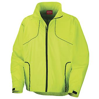 Spiro Mens Sports Crosslite Trail & Track Jacket (Waterproof, Windproof & Breathable)