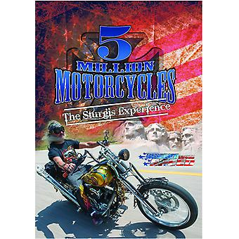 5 Million Motorcycles [DVD] USA import