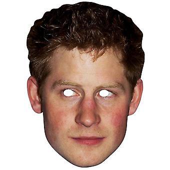 Masque facial de découpes étoiles Prince Harry célébrité