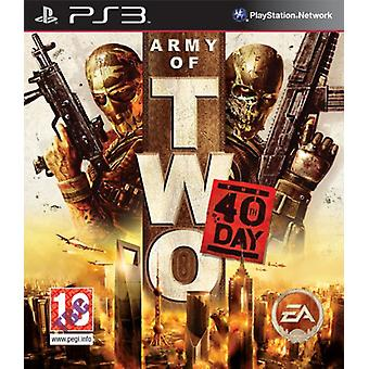 Army of Two The 40th Day (PS3) - New