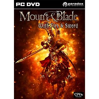 Mount and Blade with Fire and Sword (PC DVD) - New
