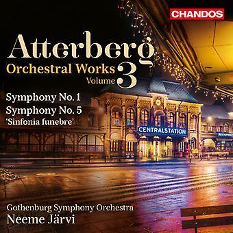 Atterberg / Gothenburg Symphony Orchestra / Jarvi - Symphonies 3 [SACD] USA import