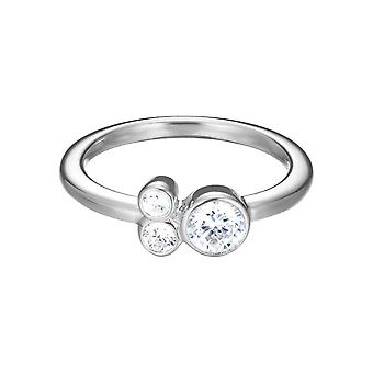 Doce de zircônia anel prata feminino-ESPRIT ESRG92544A1 Parfait