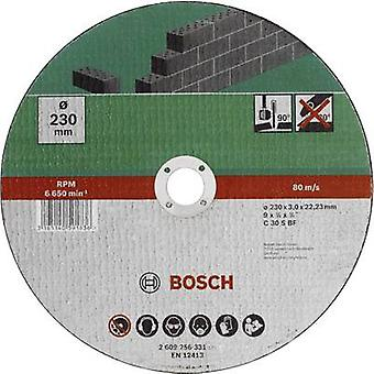 Bosch Accessories C 30 S BF 2609256331 Cutting disc (straight) 230 mm 22.23 mm 1 pc(s)