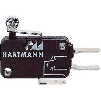 Hartmann Microswitch 04G01C06B01A 250 V AC 16 A 1 x On/(On) momentary 1 pc(s)