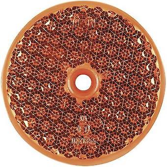 SecoRüt Reflector Round Orange (Ø) 60 mm