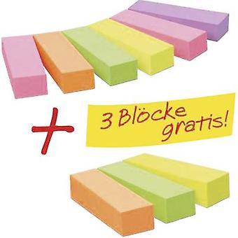3M liima nauha 670-6 + 3 15 mm x 50 mm Neon vaaleanpunainen, neonvihreä, neonkeltainen, Neon oranssi, violetti 900 arkki