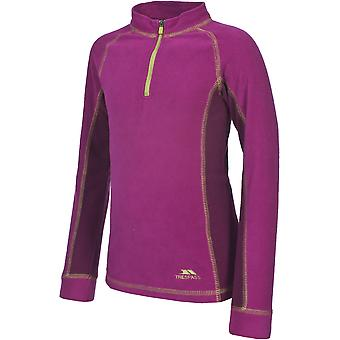 Trespass Girls Bubbles Microfleece Baselayer Top And Bottoms Set Pink