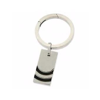 ZOPPINI Stainless Steel Black PVD Keyring