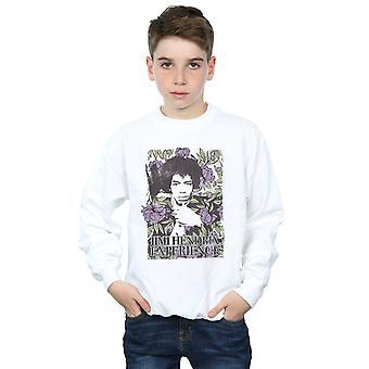 Джими Хендрикс мальчиков моде цветочные Толстовки