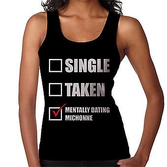 Henkisesti Dating Michonne naisten liivi