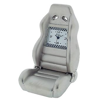 Gift Time Products Race Seat Mini Clock - Silver