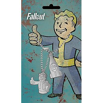 Fallout Dog Tag Nuka Pendant Vault Boy new Official  Gamer