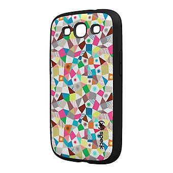 Speck Fabshell Fabric-Wrapped Snap-On Case for Samsung Galaxy S III (Chevron Print)