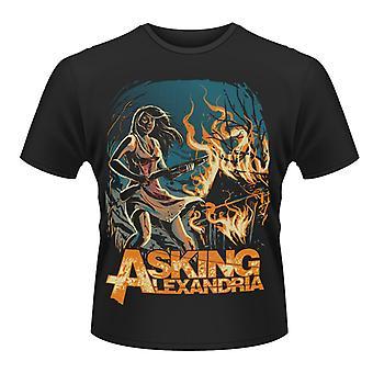 Beder Alexandria -Am jeg sindssyg T-Shirt