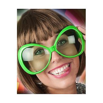 Glazen Neon groen glazen