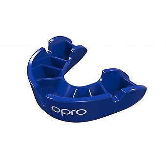 Opro Junior bronzo Gen 4 bocca guardia blu