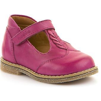Froddo Girls G2140038-3 T-bar Shoes Fuchsia Pink
