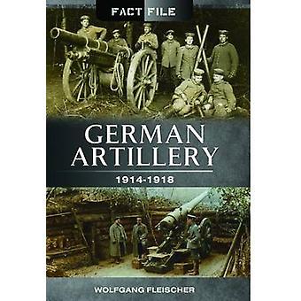 Tyska artilleriet - 1914-1918 av Wolfgang Fleischer - 9781473823983 B
