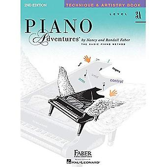 Piano Adventures, Level 3A, Technique & Artistry Book