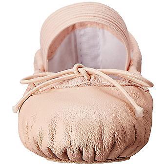 Kids Bloch Girls Dansoft Leather Bungee Ballet Flats