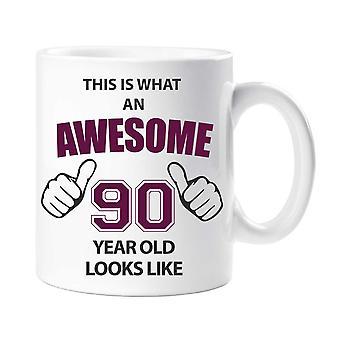 Awesome 90 år gamle krus