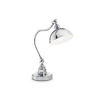Idealne Lux - Amsterdam mosiądz antyczny stół Lampa IDL131733