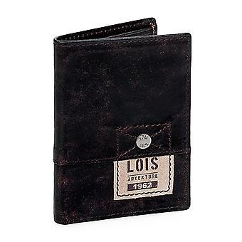 Borsa porta biglietti da visita di portafoglio in vera pelle Lois 12518