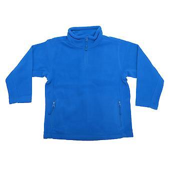 Jerzees Schoolgear Childrens/Kids Unisex 1/4 Zip Outdoor Fleece Top (Pack of 2)