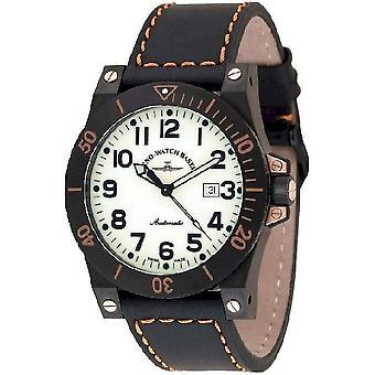 Zeno-watch montre muscle lumi automatique 8095-bk-s9