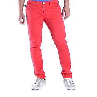 Maison Clochard Ezbc345001 Men's Red Denim Jeans