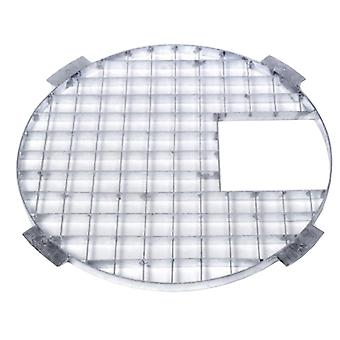 Apollo Round Galvanised Steel Grid 90cm Dia