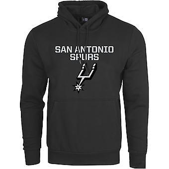 Ny era fleece Hoody-NBA San Antonio sporrar svart