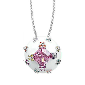 Belle Etoile White Farfalla Allegra Pendant 02020910803