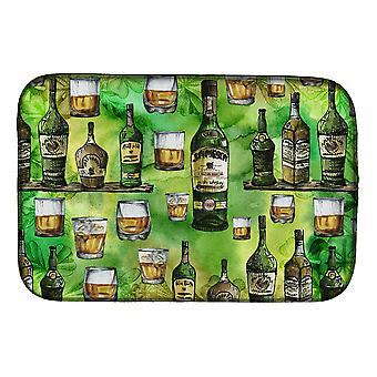 Carolines Treasures  BB5757DDM Irish Whiskey Dish Drying Mat