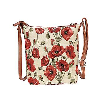 Poppy shoulder sling bag by signare tapestry / sling-pop