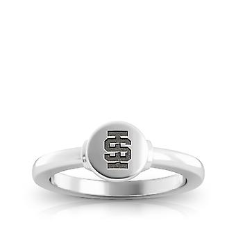 Idaho State University Engraved Sterling Silver Signet Ring