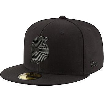 Nieuwe Era 59Fifty Cap-NBA BLACK Portland Trail Blazers