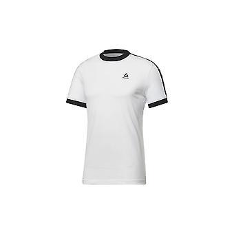 Reebok Training Essentials Lineaarinen Logo Tee FI1932 koulutus kesä miesten t-paita
